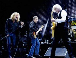 I Led Zeppelin hanno rifiutato 14 milioni di dollari per suonare al Desert Trip Festival