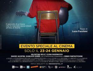 Fabrizio De André: il film biografico 'Principe Libero' oggi e domani al cinema