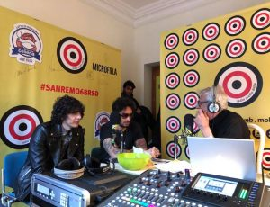 Sanremo 2018 Fabrizio Moro Ermal Meta e Giampi