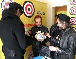 Sanremo 2018 Le vibrazioni Centrale del Latte