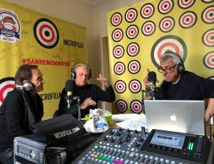 Sanremo 2018 Roby Facchinetti Riccardo Fogli e Giampi