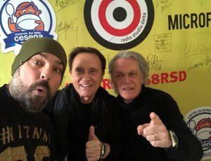 Sanremo 2018 Roby Facchinetti Riccardo Fogli e Jury Maru