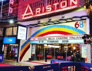 Sanremo 2018  Teatro Ariston