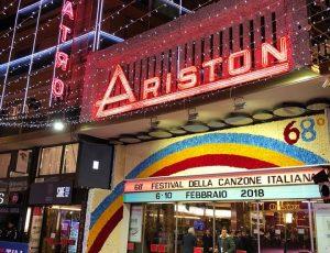 Sanremo 2018  Teatro Ariston
