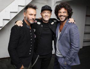 "Max Pezzali, Nek e Francesco in arrivo l'album. Stasera al Festival con ""Strada facendo"""