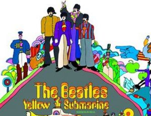 "Beatles, per i suoi 50 anni ""Yellow submarine"" torna nei cinema (e in picture disc)"