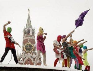 Russia, di nuovo in manette le Pussy Riot