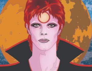 Esce la biografia di David Bowie a fumetti